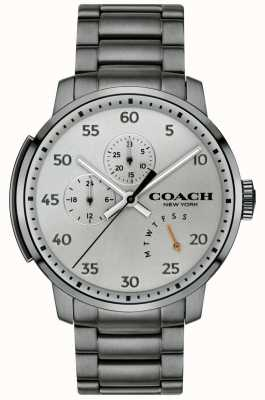 Coach Herren Bleecker Multifunktionsuhr grau 14602360