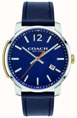 Coach Herren Bleecker Multifunktionsuhr blau 14602343