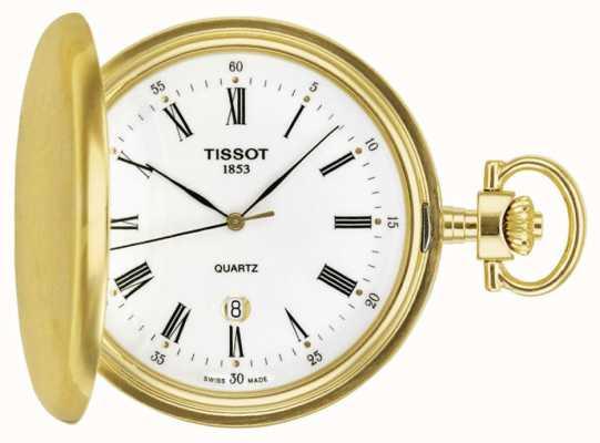 Tissot Vergoldete Savonette Taschenuhr swiss made T83455313