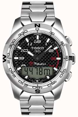 Tissot Mens t-touch II Titan Alarm Chronograph T0474204420700