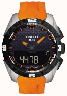 Tissot T-Touch Expert Solar Titan Alarm Chronograph für Herren T0914204705101
