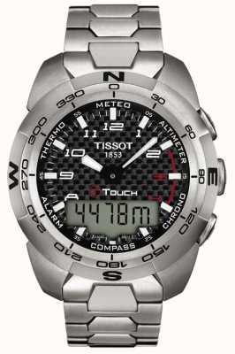 Tissot Herren T-Touch Expert Titan Alarm Chronograph T0134204420200