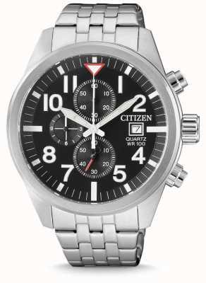 Citizen Herren Quarz Edelstahl Chronograph 100m wasserdicht AN3620-51E