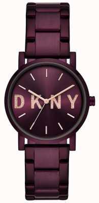 DKNY Soho Damen lila PVD überzogenes Armband NY2766