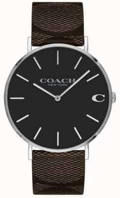 Coach Womens Freund hell rosa Zifferblatt Uhr 1402156