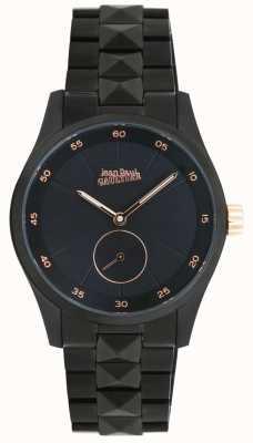 Jean Paul Gaultier Schwarzes Armband der Garcon Manquefrauen JP8505204