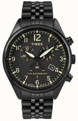 Timex Traditionelle Chronographuhr von Waterbury TW2R88600D7PF