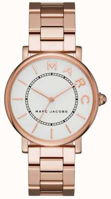 Womens Marc Jacobs klassische Uhr Roségold Ton MJ3523
