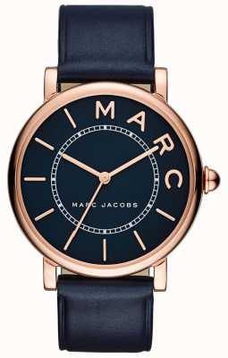 Marc Jacobs Damen marc jacobs klassisches Uhr Marine Leder MJ1534