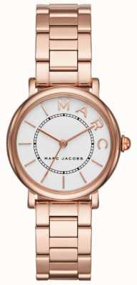 Womens Marc Jacobs klassische Uhr Roségold Ton MJ3527