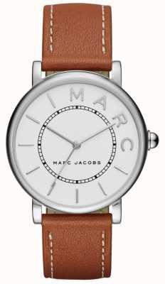Damen Marc Jacobs klassische Uhr aus braunem Leder MJ1571