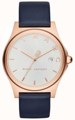 Marc Jacobs Marineblaues Damenarmband mit Damenuhr MJ1609