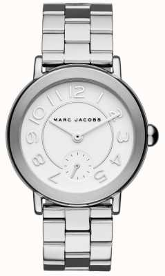 Marc Jacobs Womens Riley Uhr Silberton MJ3469