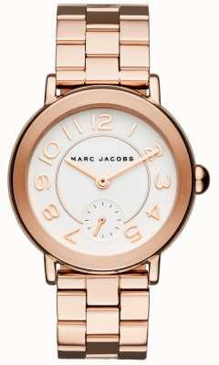 Marc Jacobs Damen Riley Uhr Roségold Ton MJ3471