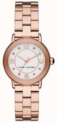 Marc Jacobs Damen Riley Uhr Roségold Ton (keine Box) MJ3474