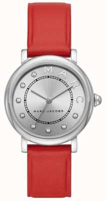 Marc Jacobs Damen marc jacobs classic watch rotes leder MJ1632