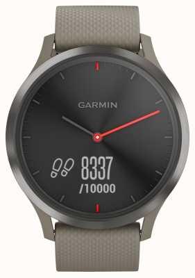 Garmin Vivomove HR Activity Tracker Sandstein Armband schwarzes Zifferblatt 010-01850-03