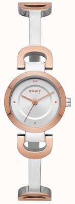 DKNY Damenuhr aus Edelstahl mit Armbanduhr aus Edelstahl NY2749