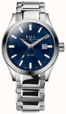 Ball Watch Company Ingenieur m Marvelight 43mm blaues Zifferblatt NM2128C-S1C-BE