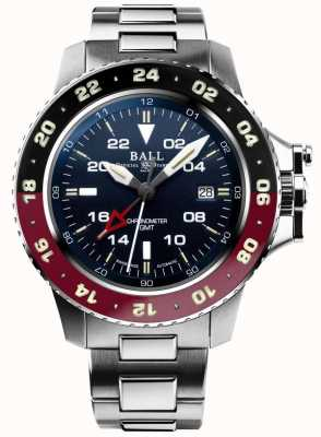 Ball Watch Company Engineer Hydrocarbon Aerogmt II 42mm blaues Zifferblatt DG2018C-S3C-BE