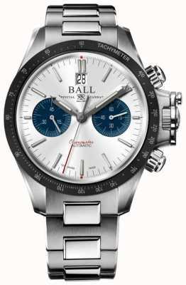 Ball Watch Company Ingenieur Kohlenwasserstoff Racer Chronograph 42mm silbernes Zifferblatt CM2198C-S1CJ-SL
