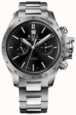 Ball Watch Company Engineer Kohlenwasserstoff Racer Chronograph 42mm schwarzes Zifferblatt CM2198C-S2CJ-BK