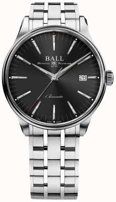 Ball Watch Company Trainmaster fertigt 80 Stunden Gangreserve 40mm NM3280D-S1CJ-BK