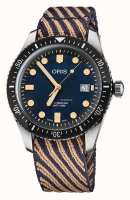 "Oris Diver's fünfundsechzig limitierte Edition ""World Clean-Up Day"" 01 733 7720 4035-5 21 13"