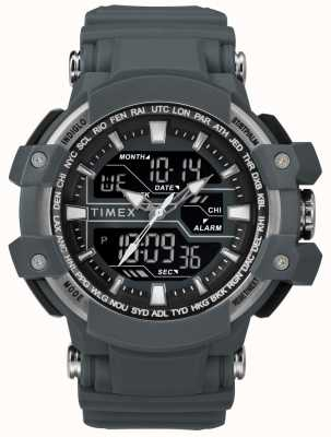 Timex Herren 50mm dunkelgraues Gehäuse dunkelgraues Armband TW5M22600