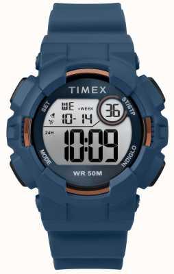 Timex Blaues blaues Armband der Frauen 44mm TW5M23500