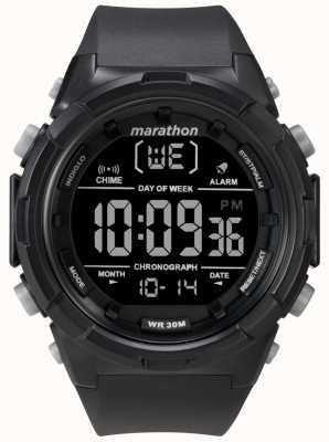 Timex 50mm schwarzes schwarzes Armband TW5M22300