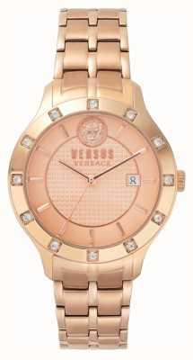 Versus Versace Damen Brackenfell Roségold Zifferblatt Roségold PVD Armband SP46040018