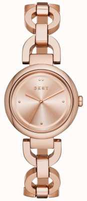 DKNY Frauen eastside roségold pvd überzogen NY2769