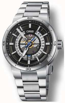 Oris Williams tt1 Motor Datum Edelstahlarmband Skelett 01 733 7752 4124-07 8 24 08