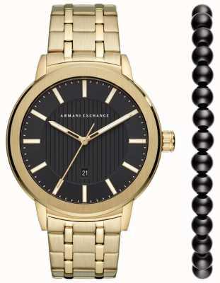Armani Exchange Urban Watch Geschenkset für Herren AX7108