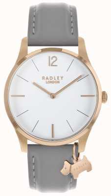 Radley Damenuhr Roségoldgehäuse Aschenband RY2712