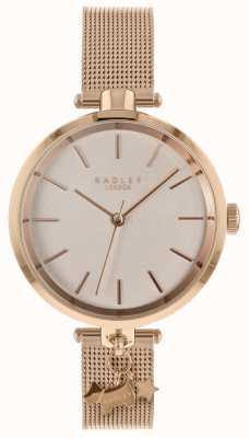 Radley Damen Rose Gold Mesh Uhr RY4364