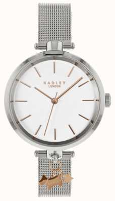 Radley Damen Silber Mesh Uhr RY4363