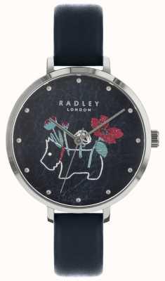 Radley Damenuhr mit Blumenmuster und Hundedruck RY2681