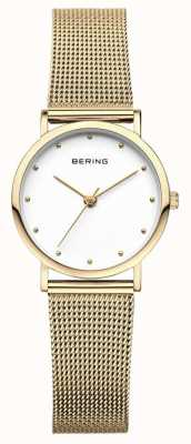 Bering Damenuhr klassisches Uhrgold 13426-334