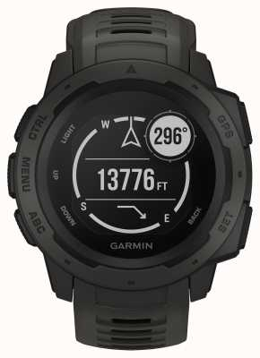 Garmin Instinct graphite outdoor gps silikonband 010-02064-00
