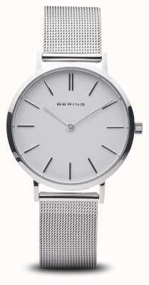 Bering Damenuhr klassisch Edelstahl Silber 14134-004