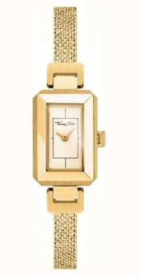 Thomas Sabo Damen Armband aus Edelstahl gelb / gold, goldenes Zifferblatt WA0331-246-207-23