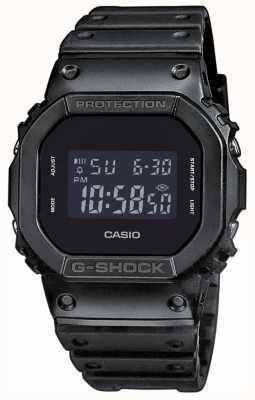 Casio G-Schock-Verdunkelungsharzband für Herren DW-5600BB-1ER