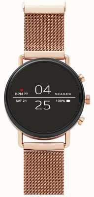 Skagen Falster 2 Gen 4 Smart Watch Roségold-Mesh SKT5103
