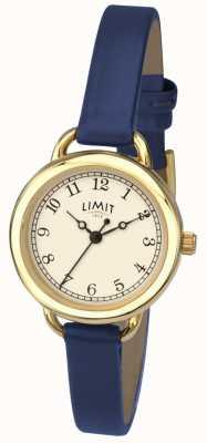 Damen Limit Uhr | blauer Riemen 6232.01