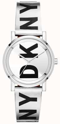 DKNY Womens Soho Silber Uhr NY2786