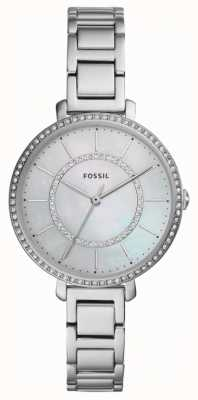 Fossil Womens Jocelyn | silberne Edelstahluhr ES4451