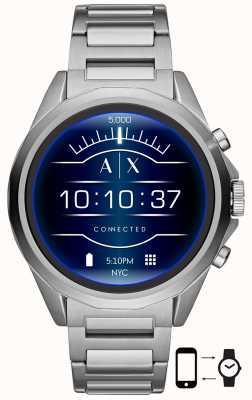 Armani Exchange Verbunden | intelligente Uhr | Edelstahl-Armband AXT2000