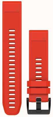 Garmin Flammenrotes Kautschukband quickfit 22mm fenix 5 / Instinkt 010-12496-03